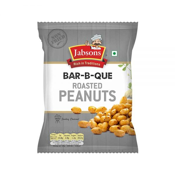 Jabsons Bar B Que Roasted Peanuts