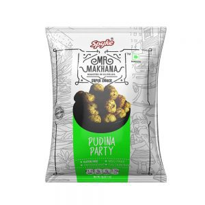 Mr Makhana Roasted Pudina Party 25g
