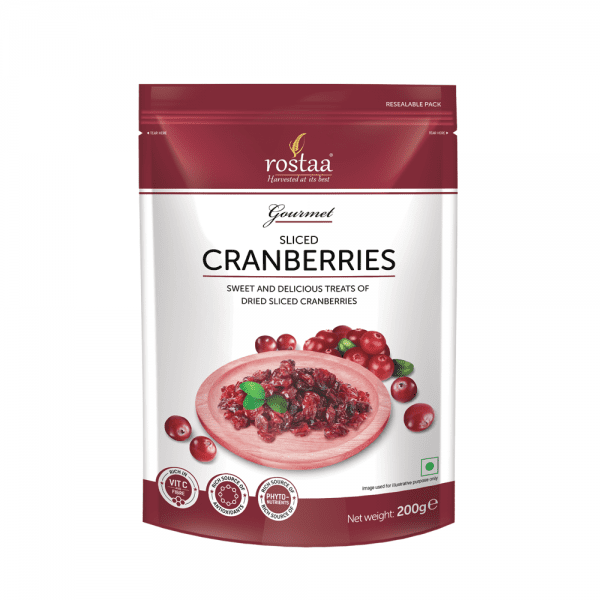 Rostaa Gourmet Sliced Cranberries Sweet And Delicious Treats