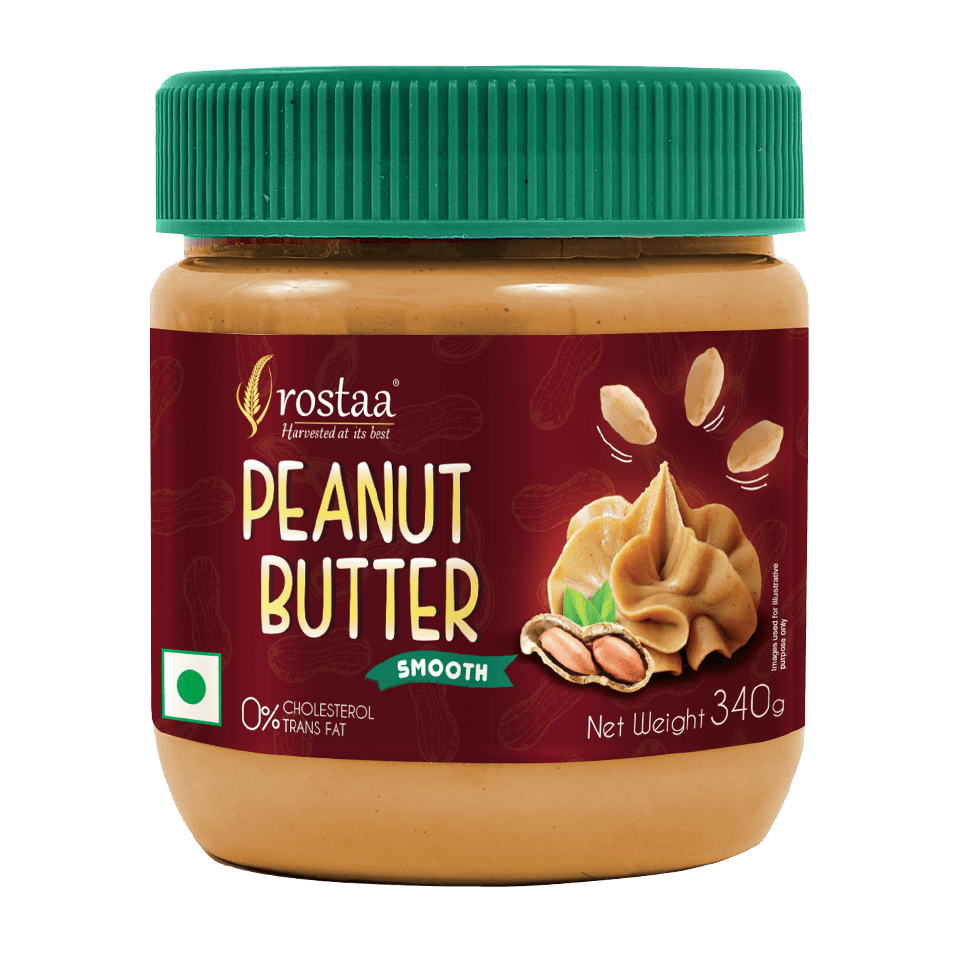 Rostaa Peanut Butter Smooth 340g