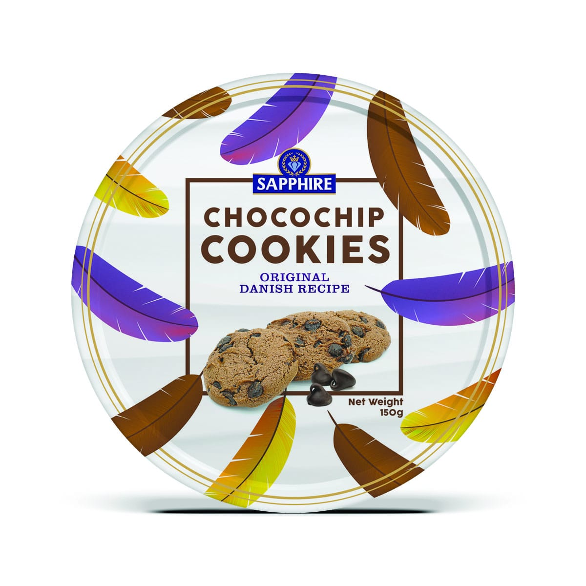 Sapphire Chocochip Cookies 150g