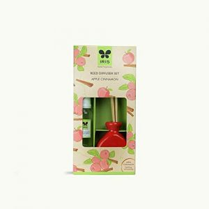 Iris Reed Diffuser Set Apple Cinnamon Home Fragrances 60ml