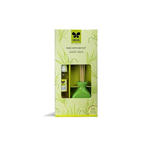 IRIS Reed Diffuser Ceramic Pot Lemon Grass