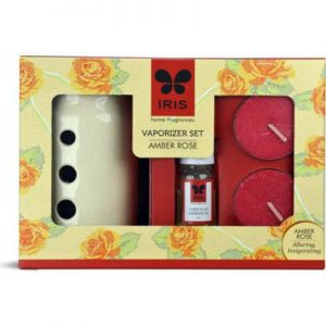 IRIS Home Fragrance Amber Rose Vaporizer Set
