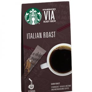 Starbucks Italian Roast Ready brew 25g 12
