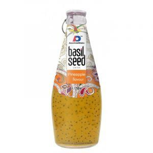 American Delight Basil Seed Drink with Passion Fruits Flavour-290ml